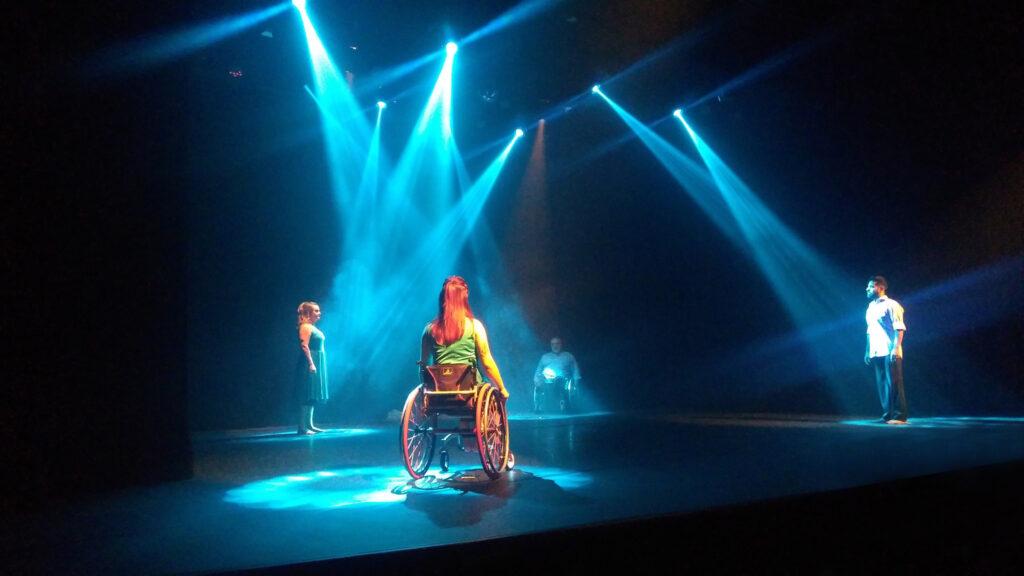 Dança em cadeiras de rodas