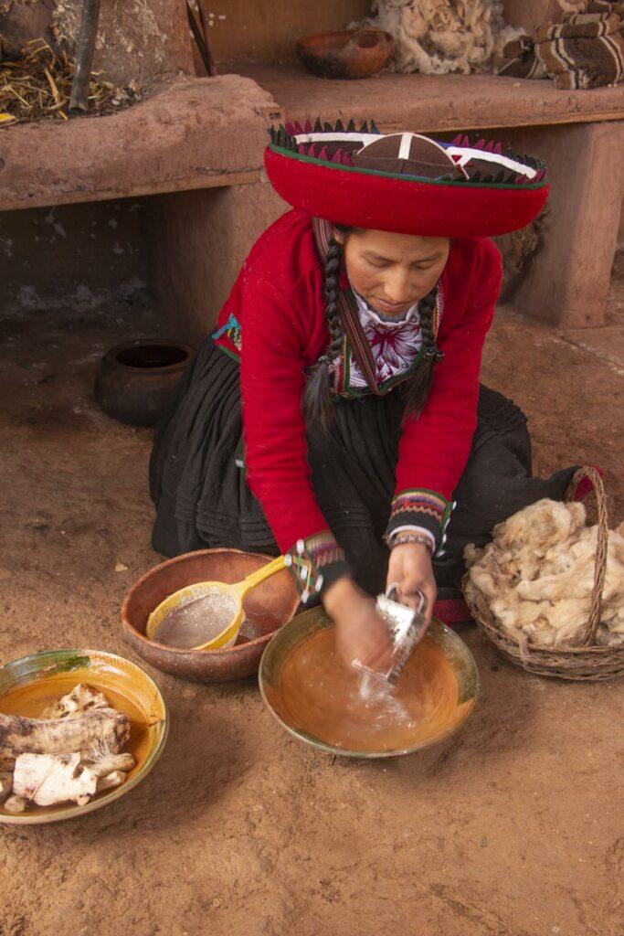 tecelagens em Cusco